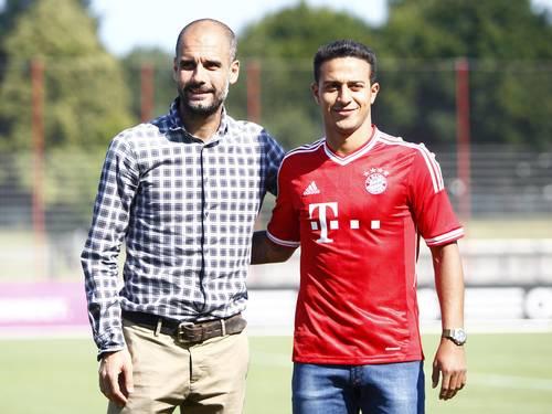 Thiago Alcântara é apresentado oficialmente pelo Bayern de Munique