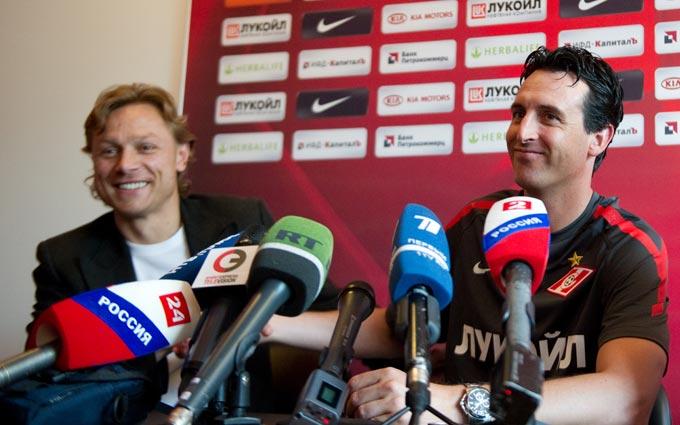 """Unai Emery: """"El objetivo del Spartak es ganar la liga rusa"""""""