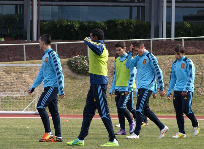 La selección sub'19 se reúne el próximo lunes para entrenar en la Ciudad del Fútbol