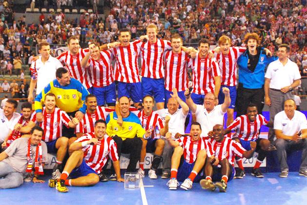 Dos títulos refuerzan al nuevo BM Atlético de Madrid