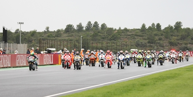 El carnet por puntos llegará al Mundial de motociclismo en 2013