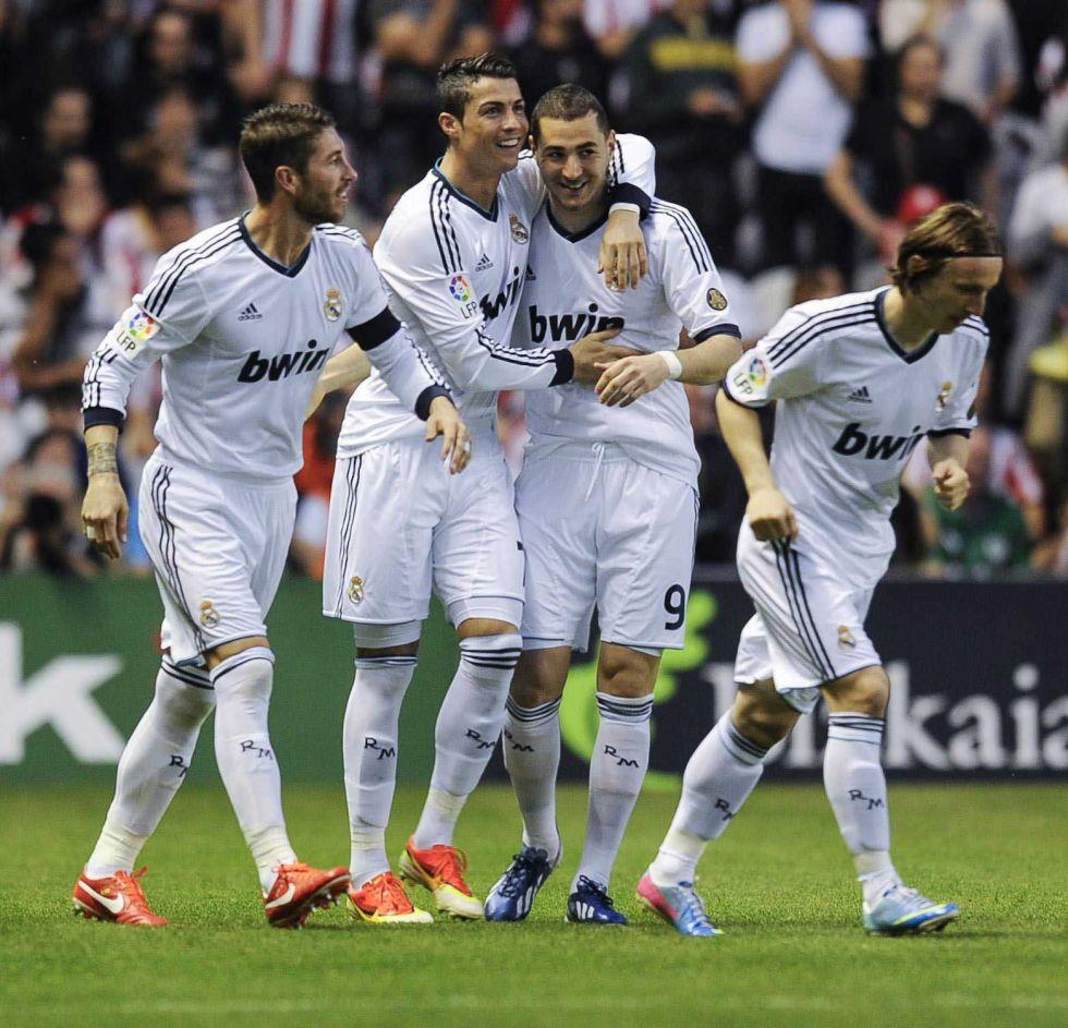 Le Real Madrid noie San Mamés