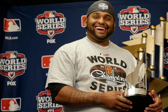 Pablo Sandoval otorga a Venezuela un granito del triunfo con su 'World Series MVP'