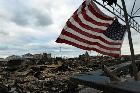 Sandy y los estados decisivos