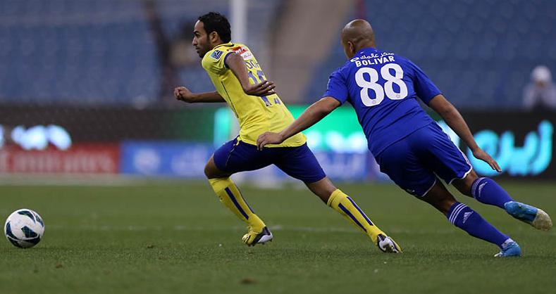 النصر يحسم ديربي العاصمة السعودية