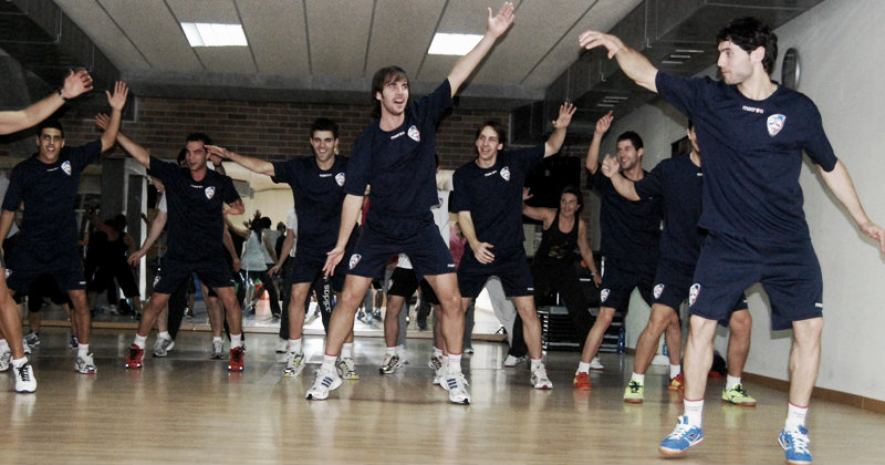 El Santiago Futsal volvió al trabajo con la mirada puesta en la Copa Xunta de Galicia de Fútbol Sala