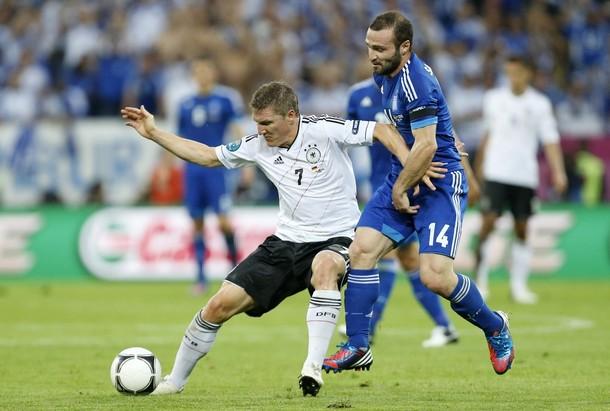 Schweinsteiger es duda para el partido ante Italia