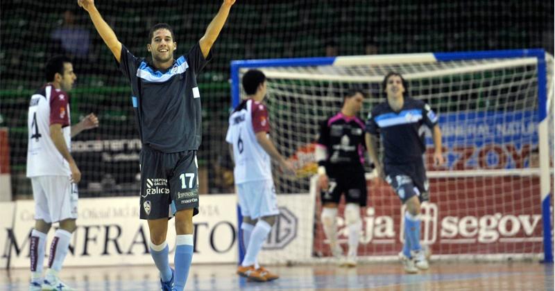 El Santiago Futsal continúa con su gran inicio de temporada en Segovia