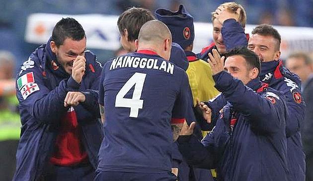 Na abertura da 22ª rodada, Roma cai em casa para o Cagliari