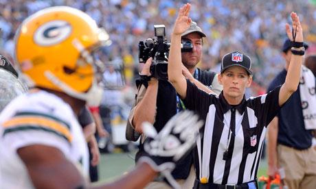 Shannon Eastin, dispuesta para entrar en la historia de la NFL