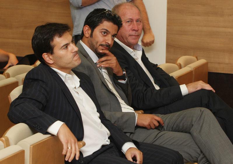 Moayad Shatat, del grupo NAS, llega para tomar el mando del Málaga