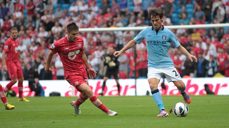 David Silva se perderá los dos próximos partidos del Manchester City