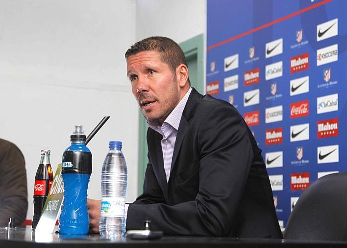 """Simeone: """"No se me olvida que estamos en un club en el que se nos exige ser competitivos"""""""