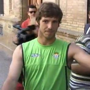 Rubén Pérez pasó el recomocimiento médico