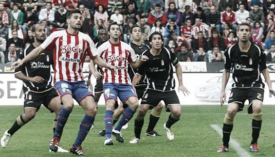 Granada C.F. - Sporting de Gijón: 'match ball'