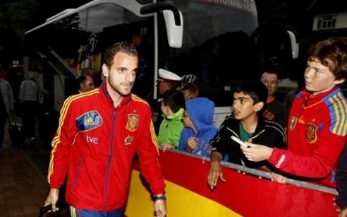 Soldado y Jordi Alba ya están en Austria