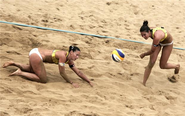 El volley playa español se despide de Londres