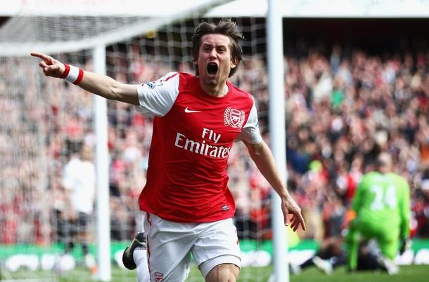 Rosicky renueva su contrato con el Arsenal