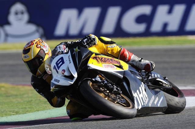 Jordi Torres se exhibe en Albacete y revalida el título europeo de Supersport 600