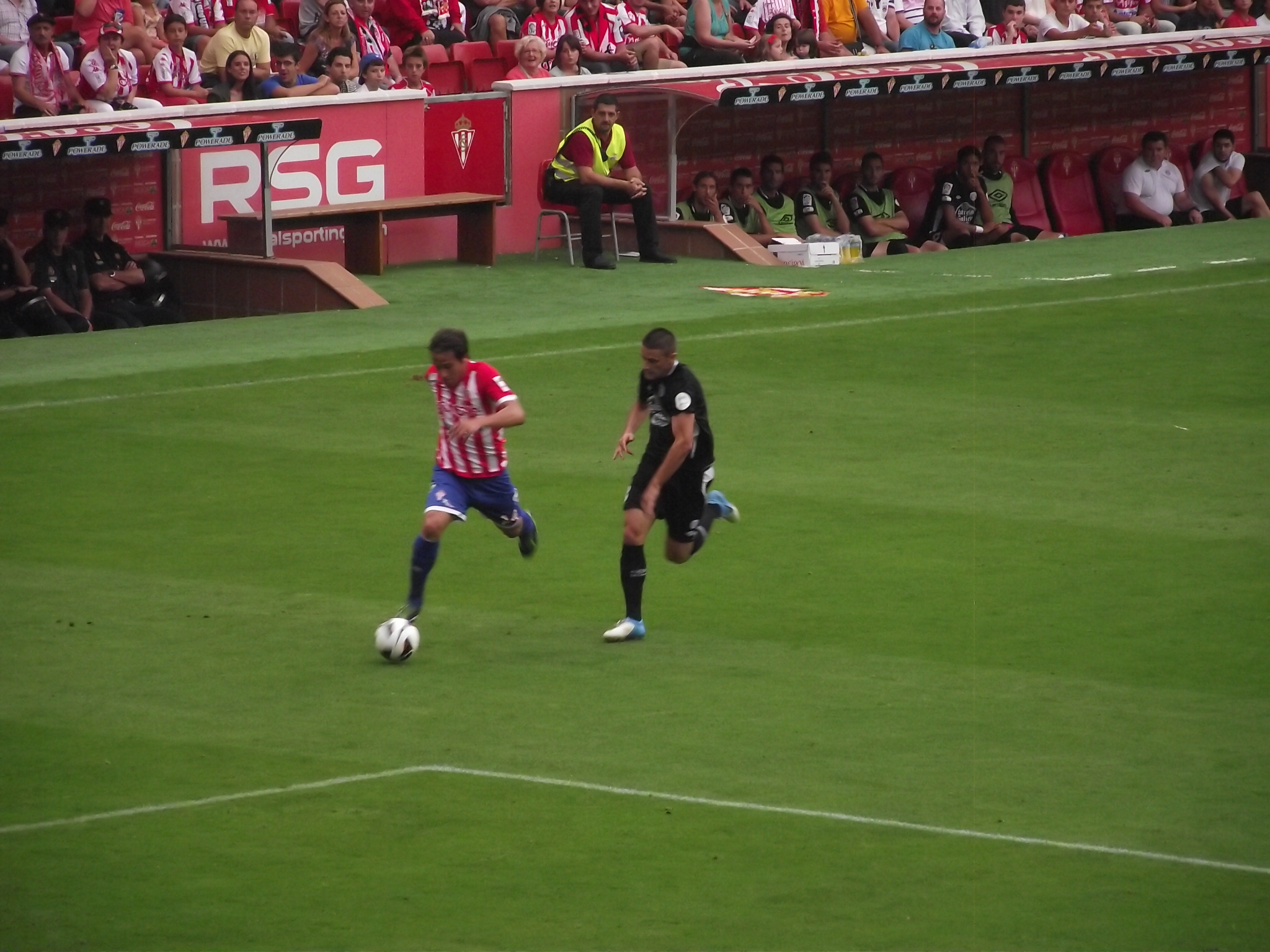 Sporting - Sabadell: puntuaciones del Sporting, jornada 12