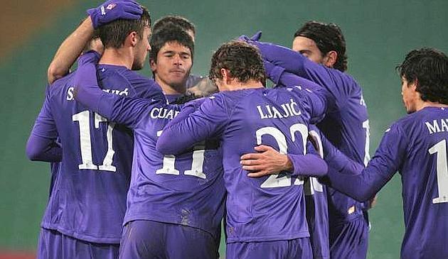 La Fiorentina pasa a los cuartos de final de la Copa Italiana con lo justo