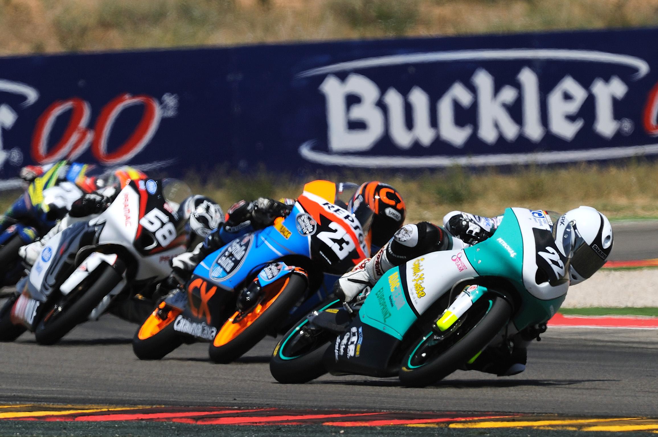 Luca Amato se alza con su primera victoria en MotorLand