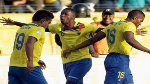 En Venezuela, pusieron el himno de México en lugar del de Ecuador