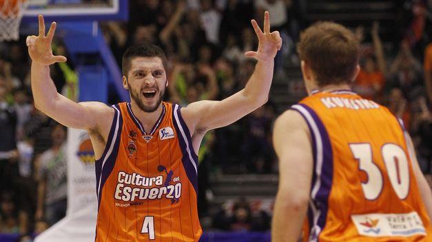 El Valencia Basket mantiene la segunda plaza