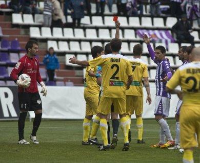 Real Valladolid - Cartagena. Puntuaciones del Real Valladolid. Jornada 36.