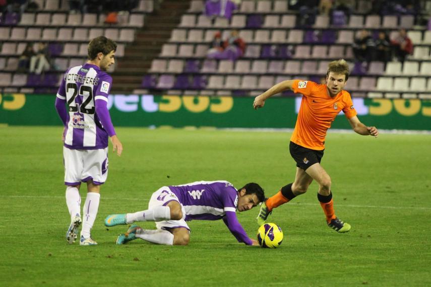 Real Valladolid - Real Sociedad: puntuaciones Real Valladolid, jornada 9