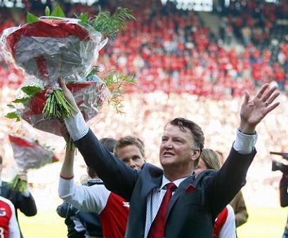Louis van Gaal vuelve al Ajax