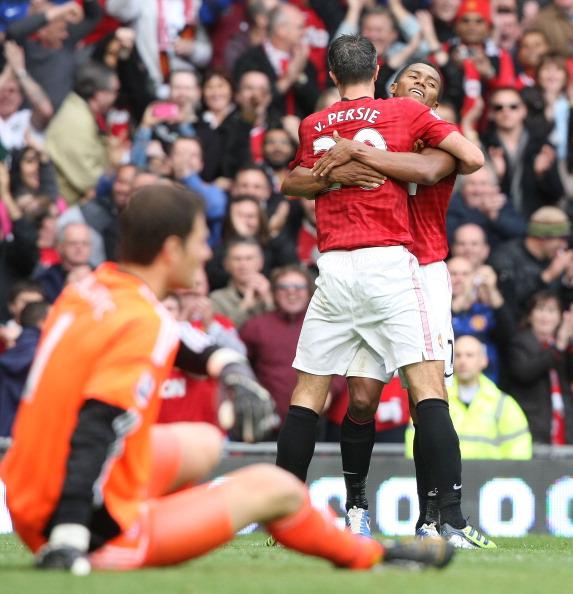 Wayne Rooney fue la figura en la goleada ante Stoke City