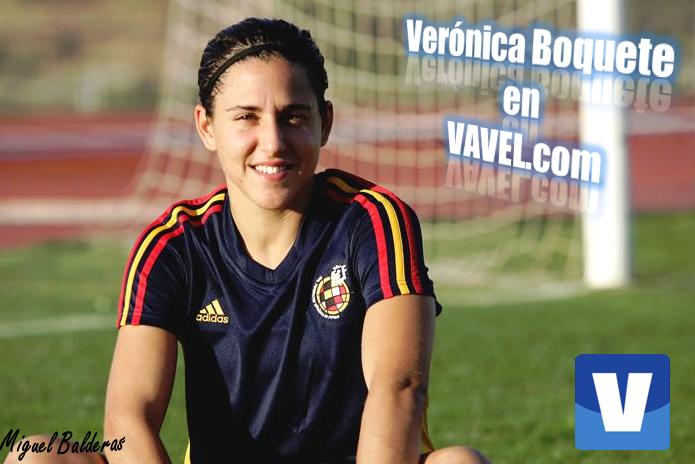 """Verónica Boquete: """"Nunca olvidaré ese España - Escocia"""""""