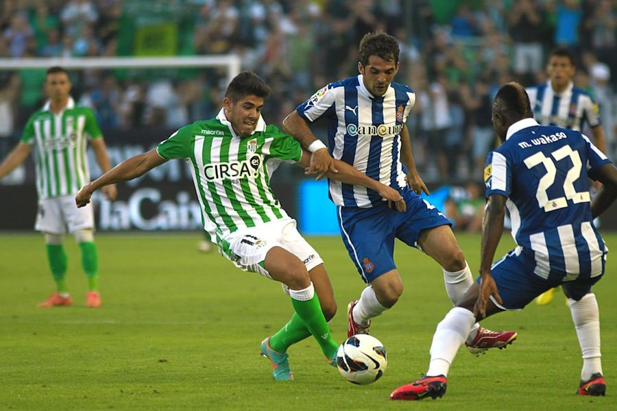 El Betis vence por la mínima al Espanyol (1-0)