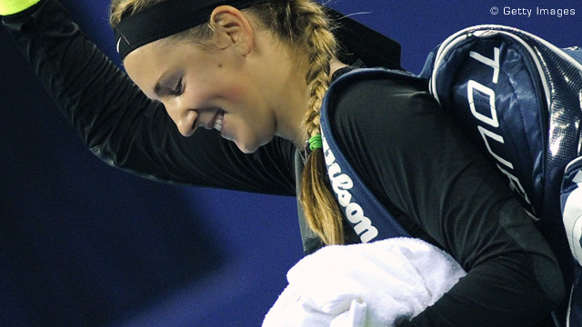 Azarenka destroza a Sharapova