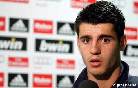 """Alvaro Morata: """"Estamos muy contentos, aunque ha sido un partido que nos ha costado"""""""