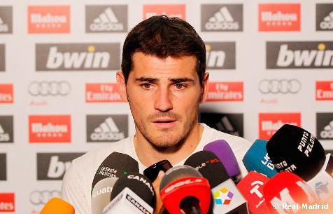 """Íker Casillas: """"Por ocasiones de gol el Real Madrid ha merecido mucho más"""""""