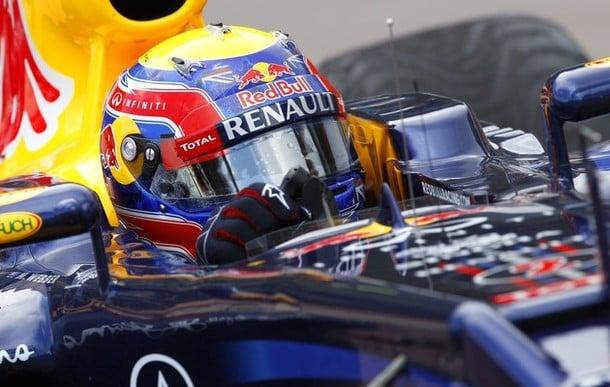 Webber logra la pole en Corea en un nuevo doblete de Red Bull