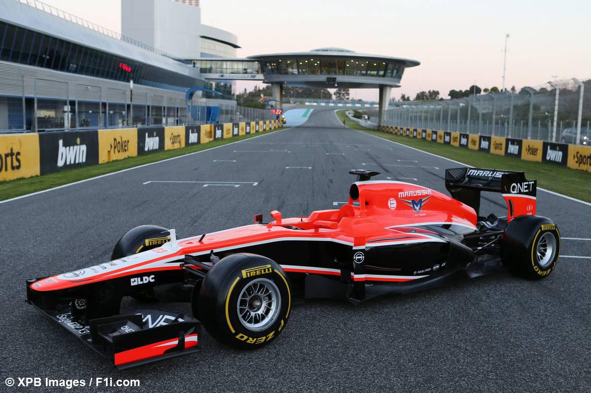 Marussia MR-02 : à l'Est, du nouveau