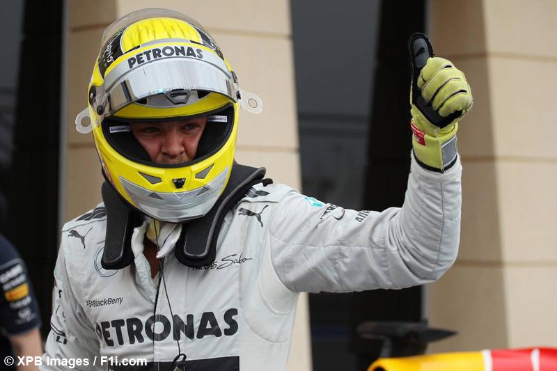 F1 / Bahreïn : Pole surprise de Rosberg devant Vettel