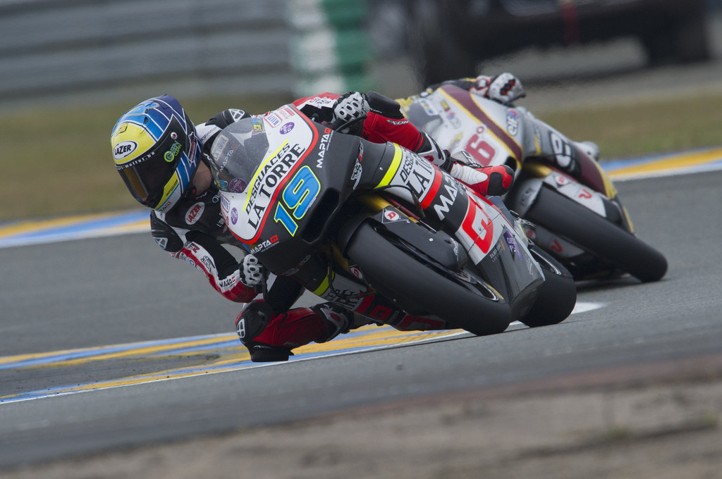Xavier Simeon in pole position al Sachsenring