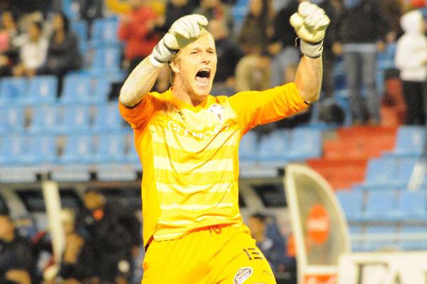 Yoel defenderá la portería del CD Lugo la próxima temporada