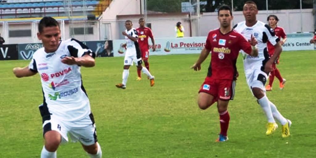 Caracas y Zamora no pudieron pasar del empate a 1