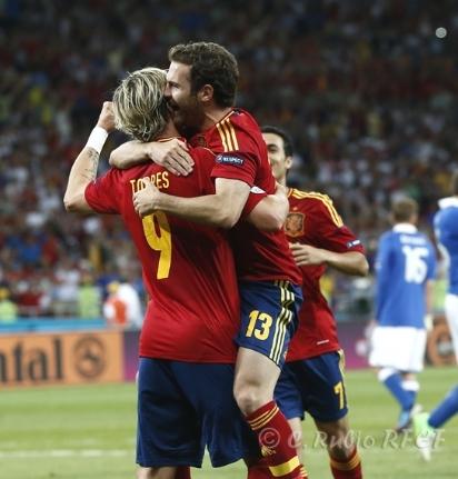 España logró la mayor goleada en las historias de las finales europeas