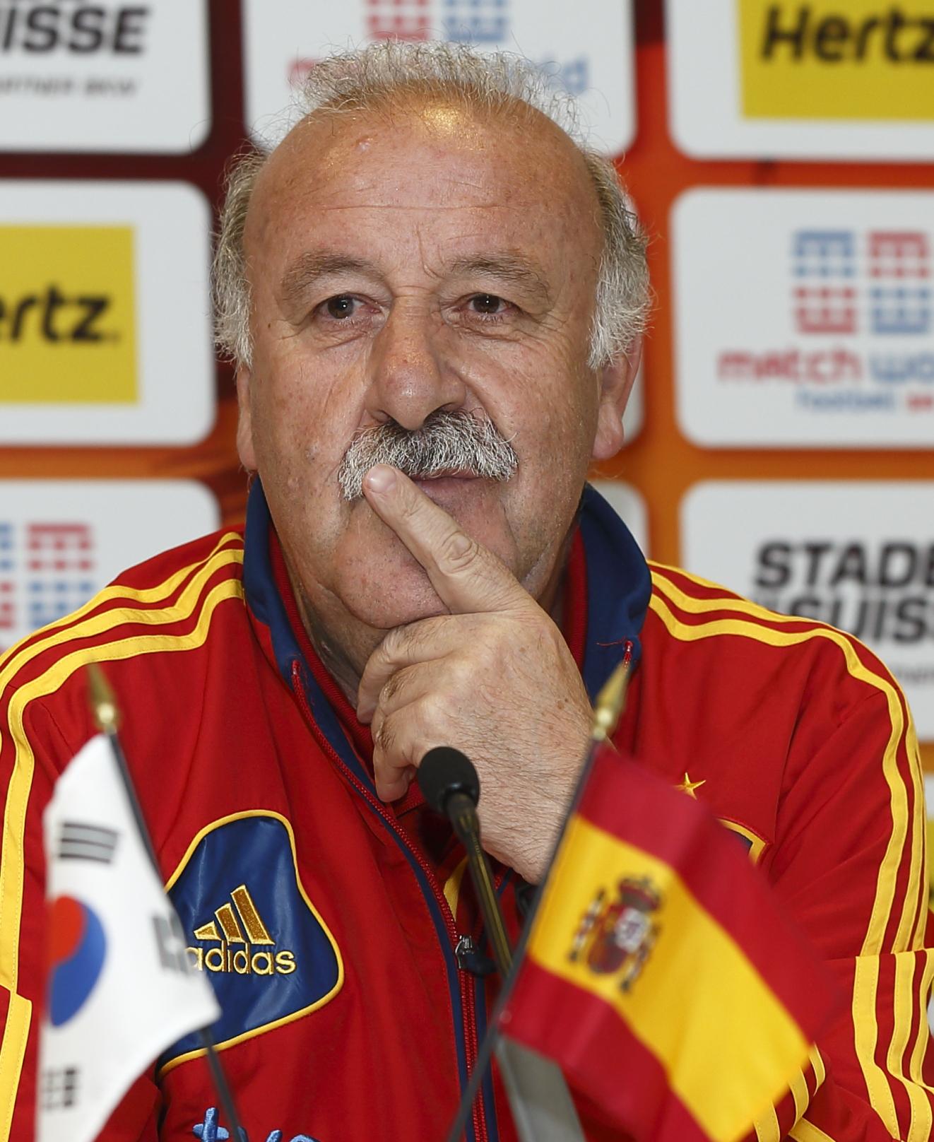 """Del Bosque: """"Nuestros jugadores son conocedores de la realidad del fútbol actual"""""""