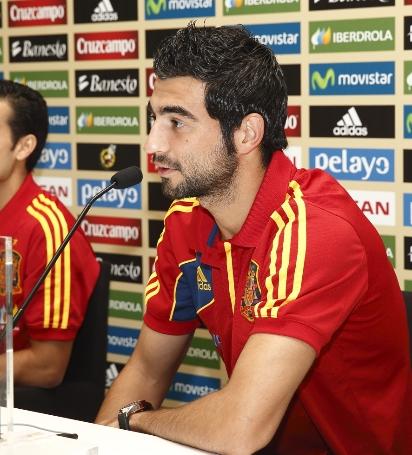 """Albiol: """"Villa y yo intentamos aprovechar estos días al máximo"""""""