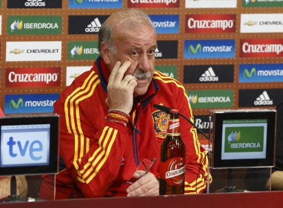 """Del Bosque: """"Hemos sido los únicos que nos hemos clasificado para cuartos y no nos hemos abrazado"""""""