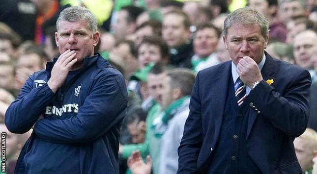 McCoist admite que la liquidación del Glasgow Rangers es más que posible