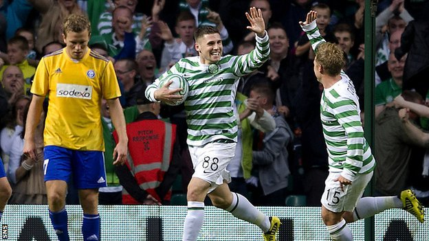 Celtic FC-HJK Helsinki. How we lived it