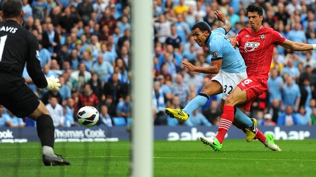 Meritorio triunfo del City ante un valiente Southampton